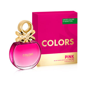 Colors de Benetton Pink