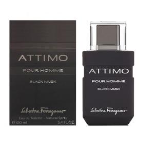 Attimo Black Musk Pour Homme