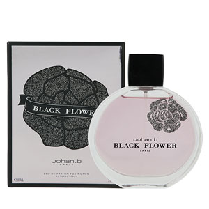 Johan B Black Flower