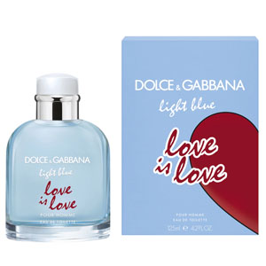 Light Blue Love Is Love Pour Homme