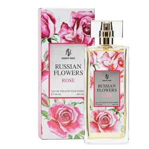 Russian Flowers Rose