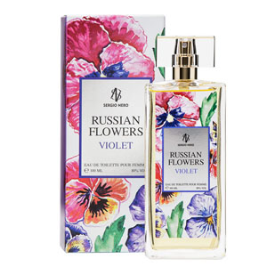 Russian Flowers Violet
